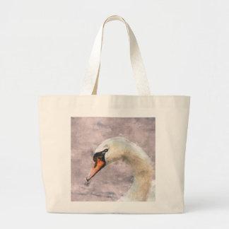 Swan Large Tote Bag