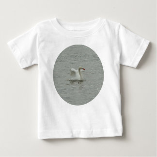 Swan- lifting wings baby T-Shirt