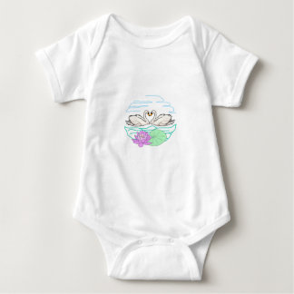 Swan & Lily Baby Bodysuit