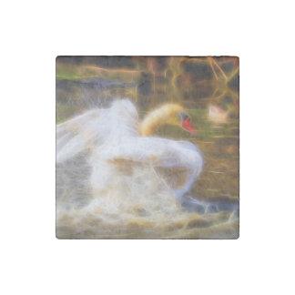 Swan Magnet Stone Magnet