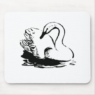 Swan Mouse Pads