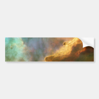 Swan Nebula Car Bumper Sticker