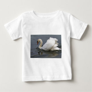 swan on lake baby T-Shirt