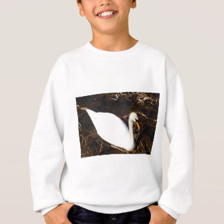 Swan on  Lake Sweatshirt