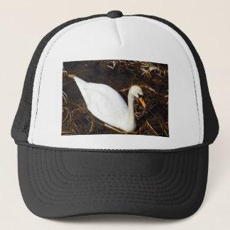 Swan on  Lake Trucker Hat