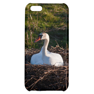 Swan on nest iPhone 5C cover