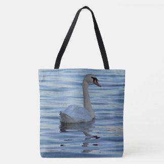 Swan Photo Tote Bag