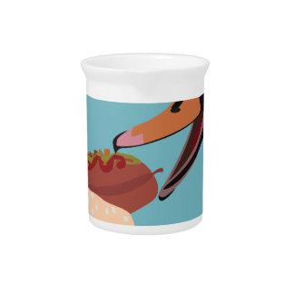 swan pitcher