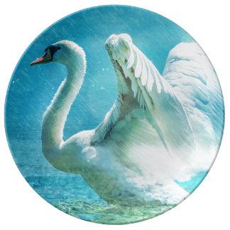 Swan Plate