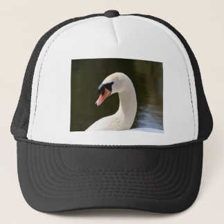 Swan Portrait Trucker Hat
