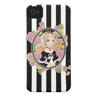 Swan Princess BlackBerry Bold case black