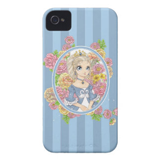 Swan Princess BlackBerry Bold case blue