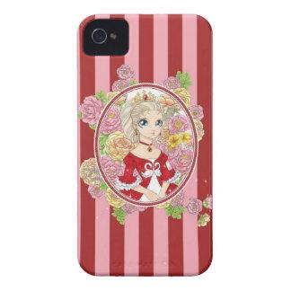 Swan Princess BlackBerry Bold case red