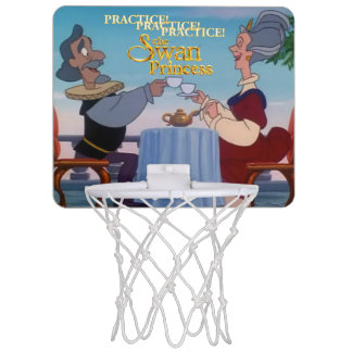 Swan Princess Mini Basketball Hoop
