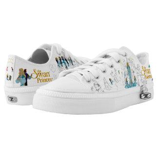 Swan Princess Odette & Derek Low Top Sketch Shoes