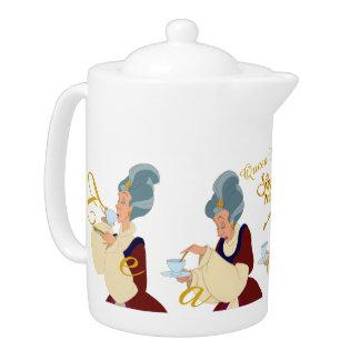 Swan Princess Queen Uberta Teapot