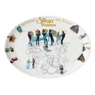 Swan Princess Sketch Platter