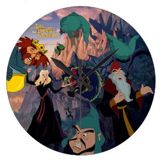 Swan Princess Villain Wall Clock