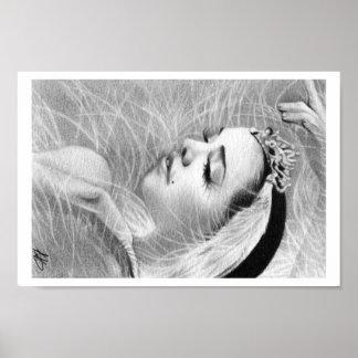 Swan Queen Ballerina Poster