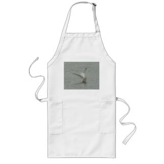 Swan-ready to fly long apron