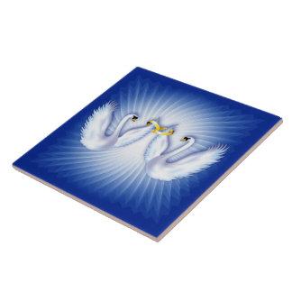 Swan s Wedding Tile