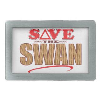 Swan Save Belt Buckles