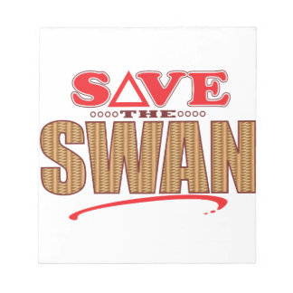 Swan Save Notepad