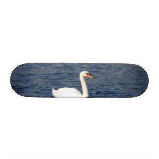 Swan Skate Board Deck