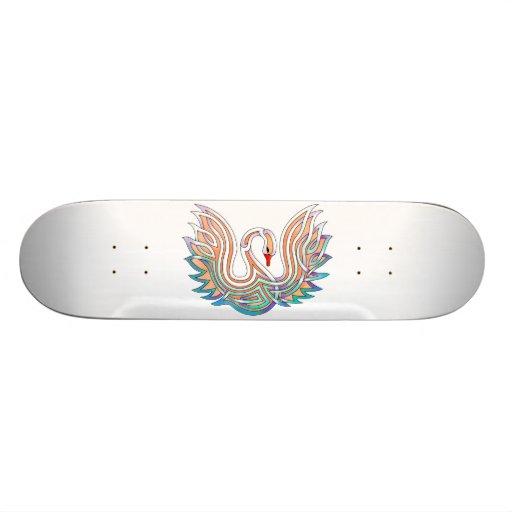 Swan Skate Board