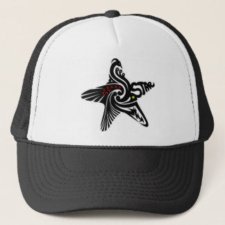 Swan Star Trucker Hat