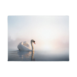 Swan Sunrise Doormat