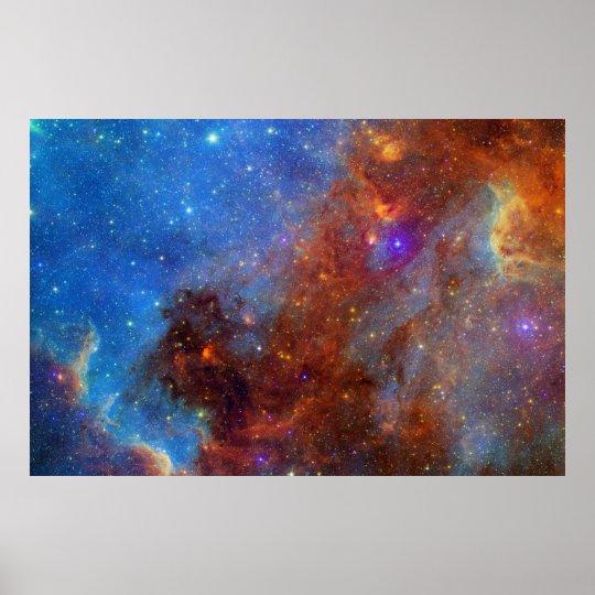 Swan Tail Nebula Poster