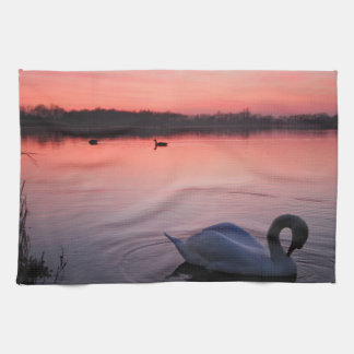 Swan Tea Towel