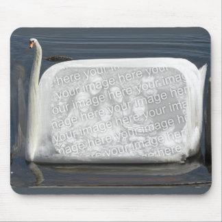 Swan template ~ mousepad
