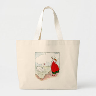 Swan Vintage The Real Mother Goose Canvas Bags