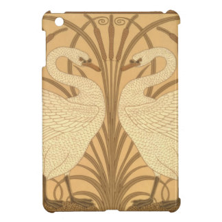 Swan wallpaper design iPad mini cover