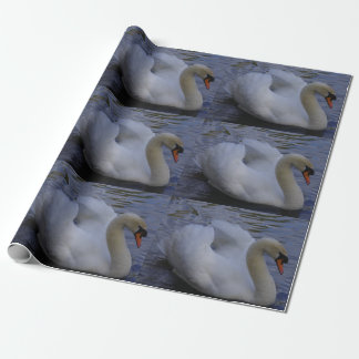 Swan Wrapping Paper