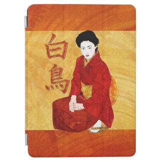 SwanGeisha Japanese Folk Art iPad Air Cover