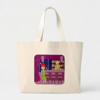 Swanky Hangout Jumbo Tote Bag