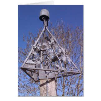 Swannington village sign on a sunny day in Norfolk Card