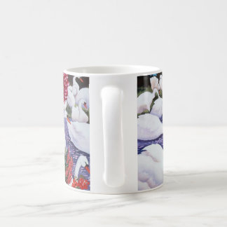 Swans and Chrysanthemums 2005 Coffee Mug