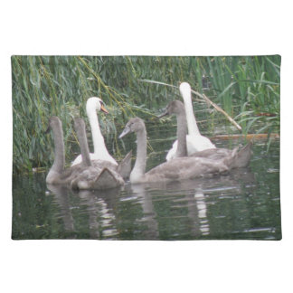 Swans and Cygnets Placemat