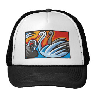 swans mesh hats