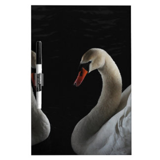 Swans Dry-Erase Board