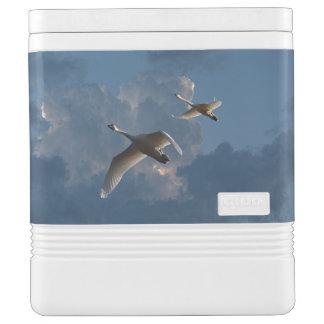 SWANS IN FLIGHT IGLOO COOL BOX