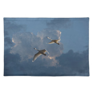 SWANS IN FLIGHT PLACEMAT