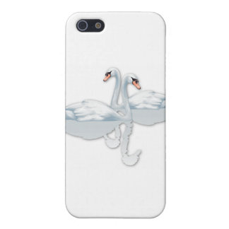 SWANS IN LOVE FOR WEDDINGS iPhone 5/5S CASE
