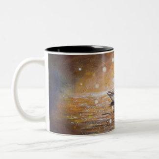 Swans in Love Mug