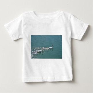 Swans In Sunlight Baby T-Shirt