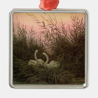Swans in the Reeds, c.1820 Christmas Ornament